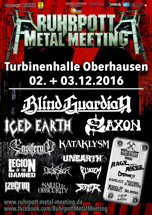 Ruhrpott Metal Meeting 2016 Flyer